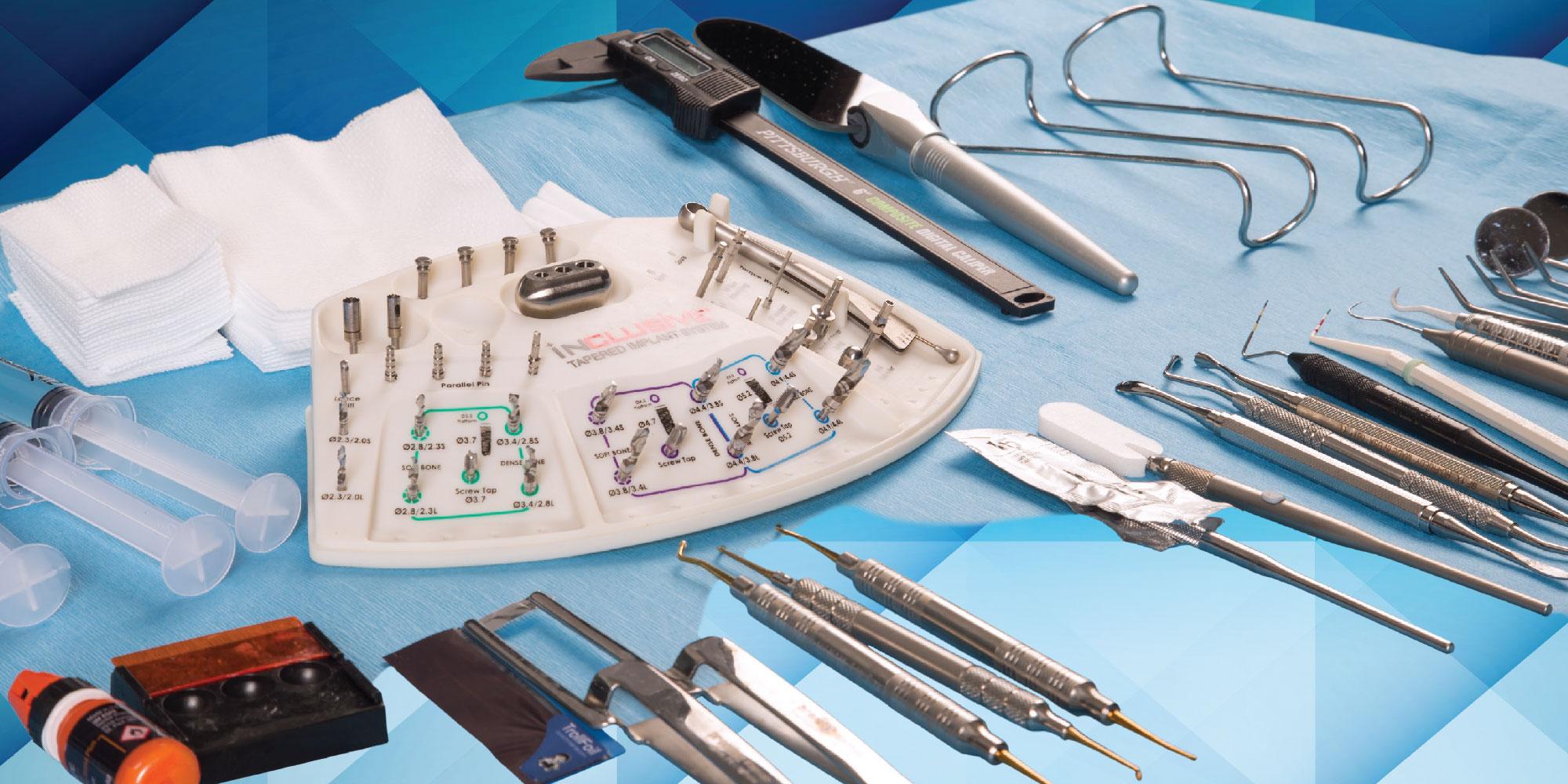 Practice Management: Basic Tray Setup for Dental Implant Surgery